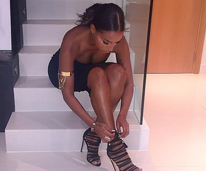 heels, girl, and shoes image
