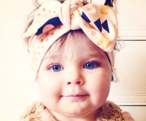 baby, fashion, and blue eyes image