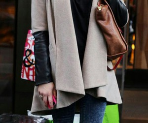 cold, lucyhale, and fashion image