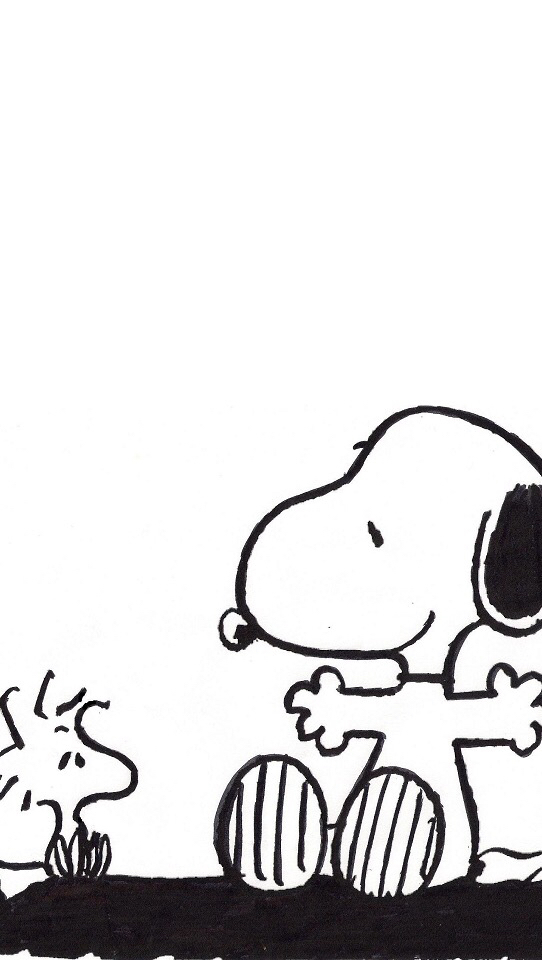 Snoopy wallpaper discovered by Joss