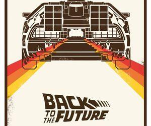 Back to the Future and delorean image