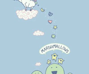 unicorn, marshmallow, and funny image