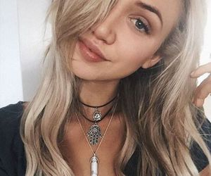 acessories, blonde hair, and fashion image