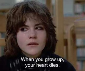 heart, quotes, and The Breakfast Club image