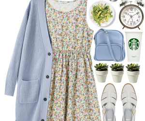 dress, outfit, and vintage image