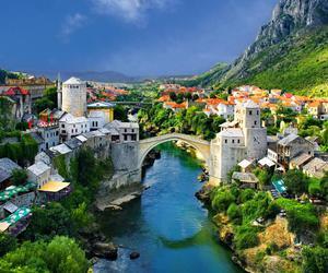 Bosnia and mostar image