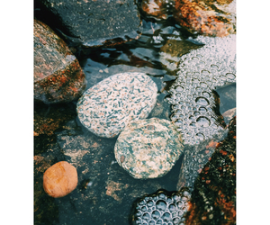 photography, rocks, and water image