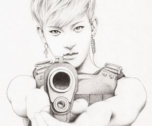 48 Images About Kpop Drawings On We Heart It See More About Fanart
