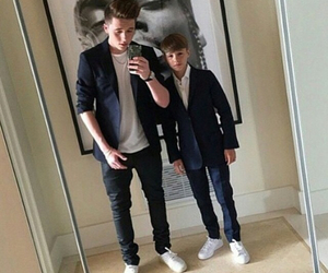 boy, suit, and brooklyn beckham image