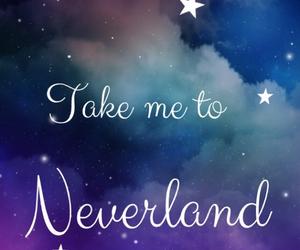 neverland, wallpaper, and stars image