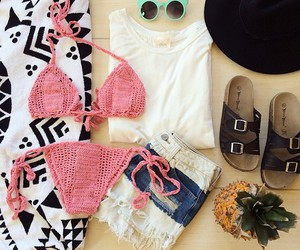 bikini, summer, and knit image
