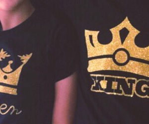 king, Queen, and lo ve image