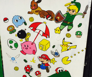 art, artistic, and kirby image