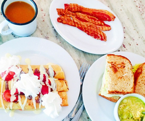 bacon, brunch, and crepes image