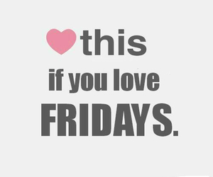 love, friday, and heart image
