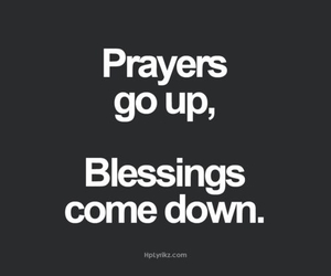 prayer, blessing, and faith image