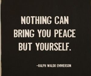 quote, peace, and life image