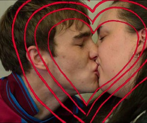 my mad fat diary, kiss, and nico mirallegro image