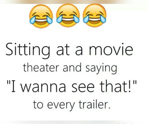 laughing and movies image