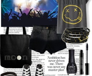 concert, outfit, and Polyvore image