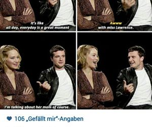katniss, jenniferlawrence, and joshifer image