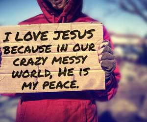 crazy, jesus, and messy image