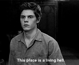 ahs, american horror story, and hell image