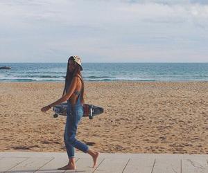 beach, fun, and chill image