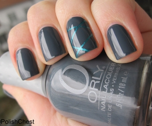 beauty, blue, and grey image