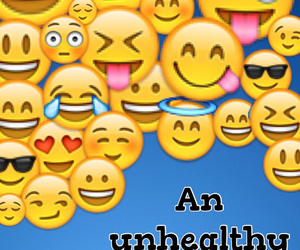 obsession and emoji image