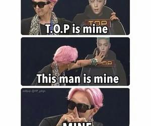 bigbang, taeyang, and funny image