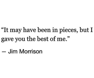pieces, quote, and love image