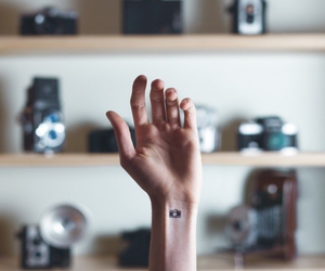 arm, tattoo, and hand image