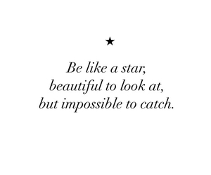 stars, quotes, and beautiful image