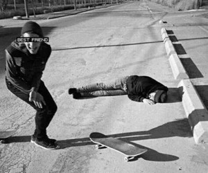 best friends, friends, and skate image
