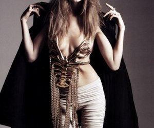Abbey Lee Kershaw, bones, and cape image