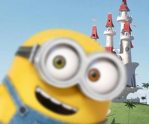 minions, yellow, and cute image