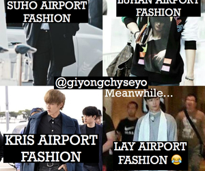 exo, lay, and funny image