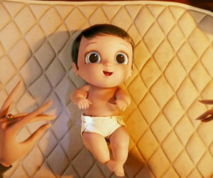 adorable, baby, and cartoon image