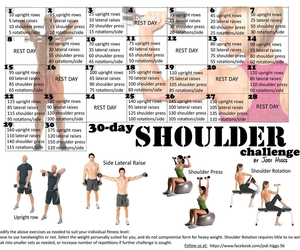 fitness, shoulder, and workout image