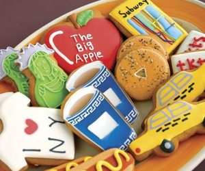 Cookies, new york, and food image