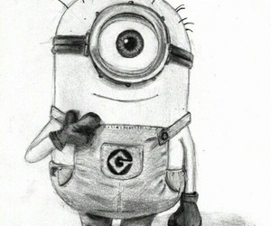 minions cute art little image
