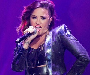 demi lovato, tour, and warrior image