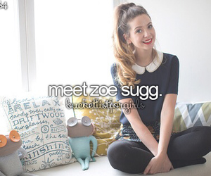 zoella, youtuber, and zoe sugg image