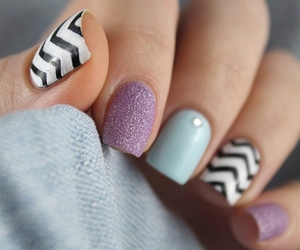 beauty, pastel, and ongle image