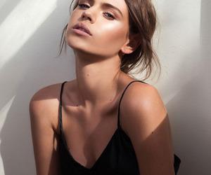 girl, model, and beauty image