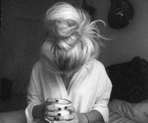b&w, cup, and black and white image