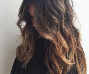 hair style, pretty hair, and fashion style image