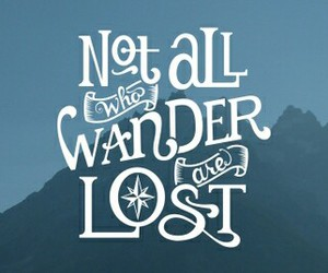 lost and wander image