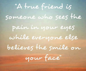 quotes, friends, and pain image